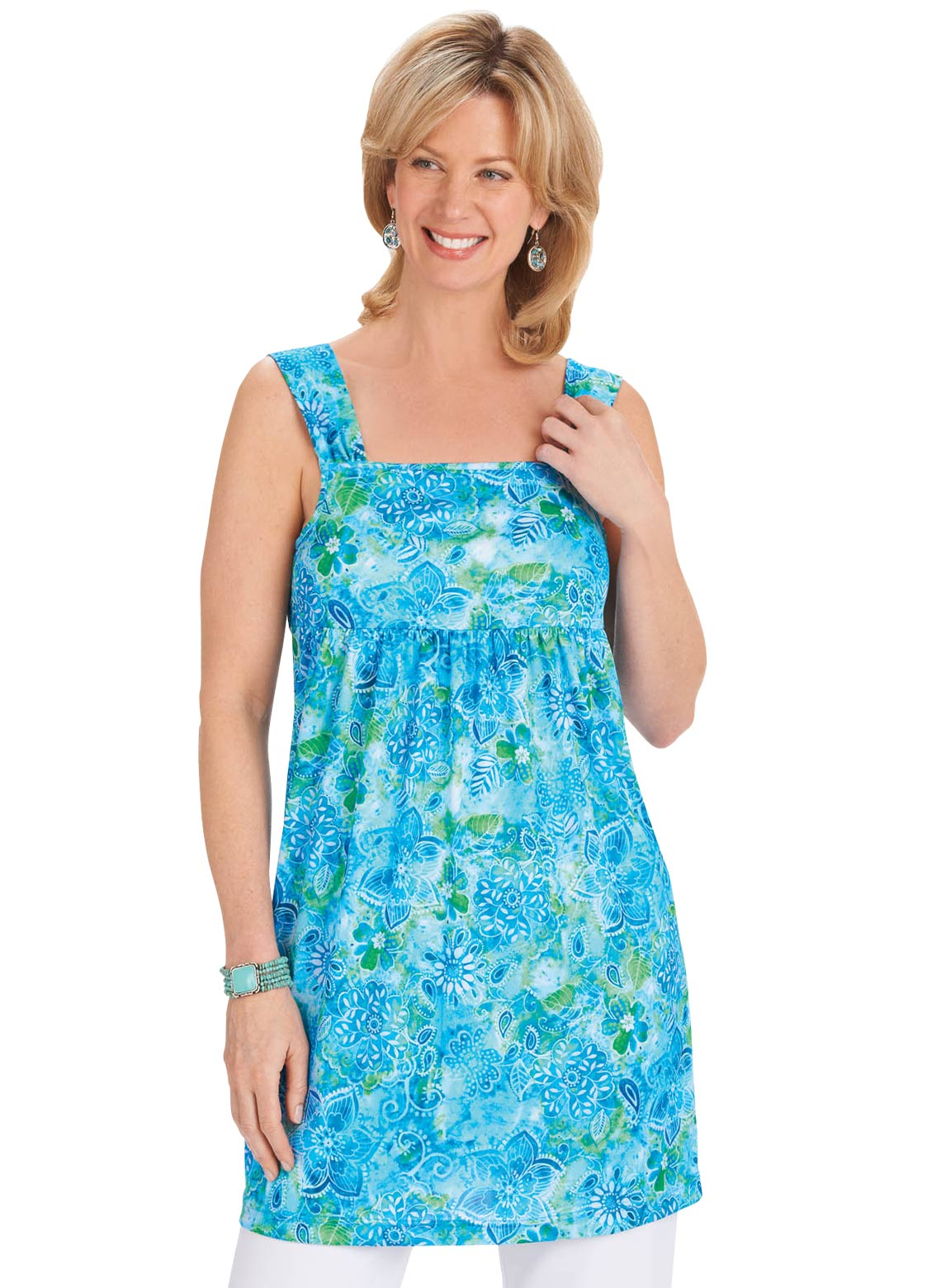 Plus Size Tunics | Tunic tops for women up to 5X from $12.99 ...