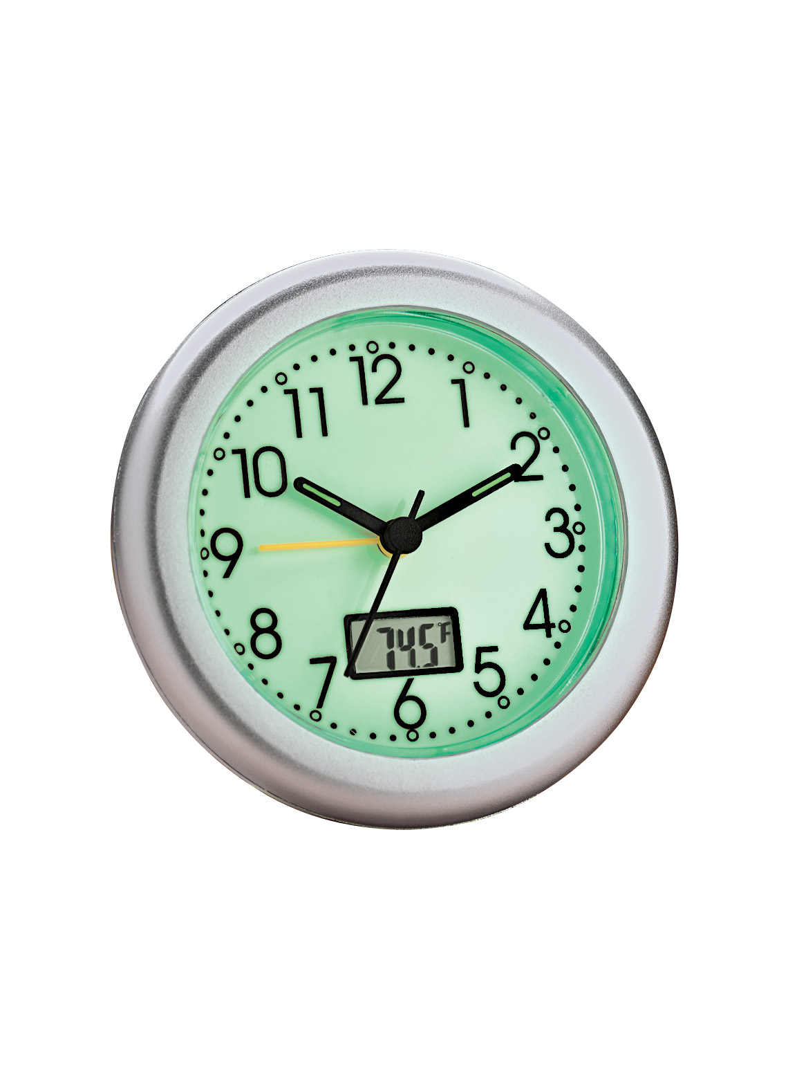 Glow in the dark alarm clock w thermometer carolwrightgifts glow in the dark alarm clock w thermometer loading zoom amipublicfo Images