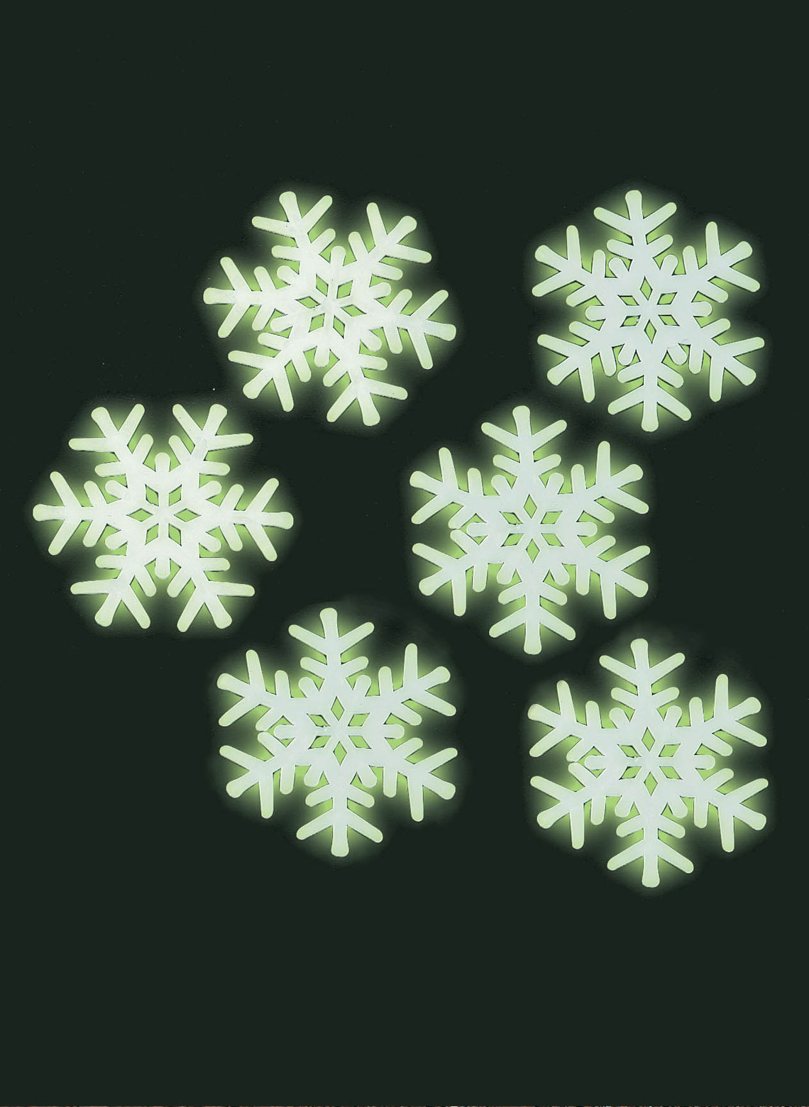 Glow In The Dark Snowflakes Carolwrightgifts Com