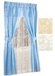 Charming All In One Curtain Sets
