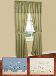 Marvelous Cut Work All In One Curtain Sets
