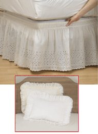 Eyelet Wraparound Bedding Collection