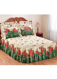 Deck the Halls Holiday Bedspread Collection