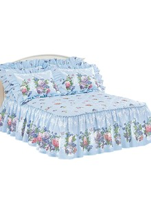 Floral Delight Quilted Bedding Separates