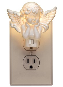 Set of 2 Guardian Angel Night Light