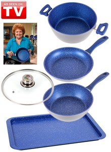 FlavorStone&#174 Essentials Cookware Set - As Seen on TV