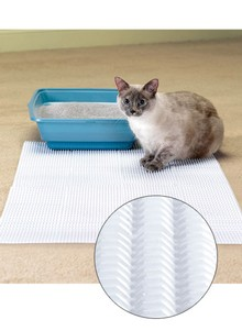 Set of 4 Cat Litter Mats