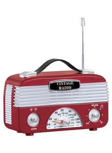 Retro AM/FM Radio