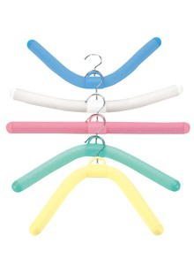 Set of 5 Foam Bendable Hangers