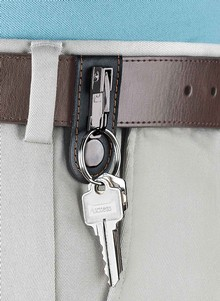 Genuine Leather Belt Clip
