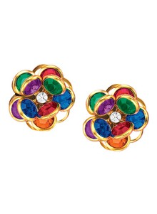 Flower Power Multicolored Earrings