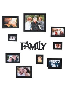 10-Piece Family Frame Set