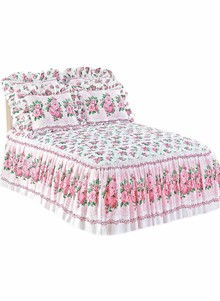 Floral Quilt Top Bedding Separates