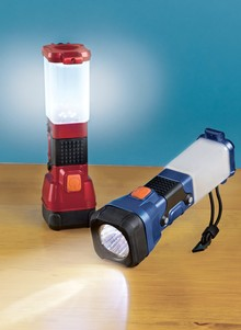 3-in-1 Flashlight, Lantern and Safety Beacon