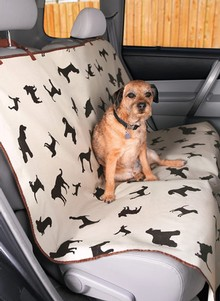 Paw Print Seat Cover