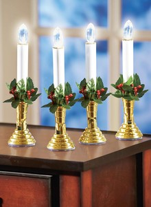 LED Holiday Candle Set