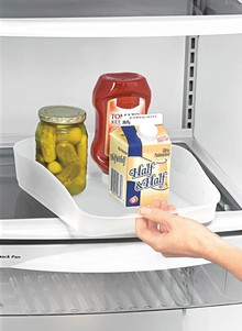 Slide-Out Refrigerator Tray