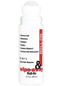 Wipe-Away Roll-on Hair Remover