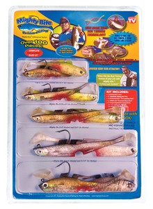 Mighty Bite&#153 Fishing Lure System, As Seen on TV