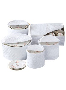 Vinyl Dinnerware Storage Cases