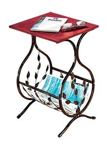 Magazine Accent Table