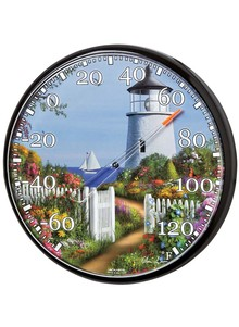 Indoor/Outdoor Wall Thermometer
