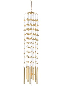 100 Brass Bells/Wind Chime