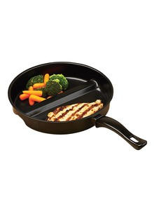 Divided Skillet and Grill Pan