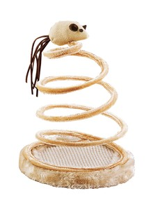 Springy Spiral Cat Toy