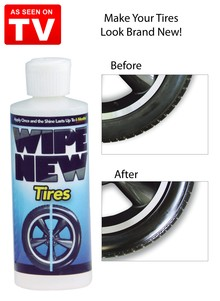 Wipe New&#153 Tires - As Seen on TV