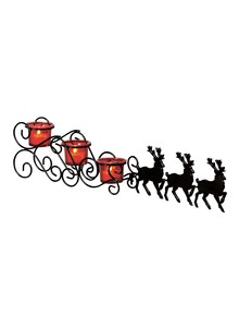 Christmas-Sleigh Candle Holder
