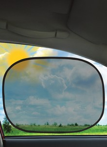 Set of 2 Instant-Cling Sun Shades