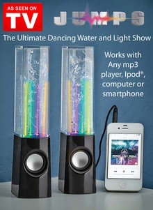JUMPS Dancing Water Speaker - As Seen On TV