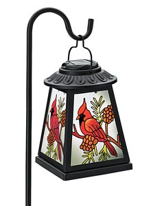Color-Changing Cardinal Lantern