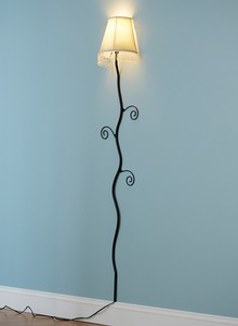 Wall-Hugging Lamp