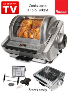 Ronco EZ-Store Rotisserie - As Seen on TV