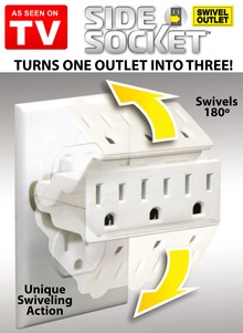 Side Swivel Socket - As Seen on TV
