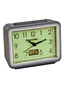 Bell + Howell&#174 Glow-In-The-Dark Alarm Clock