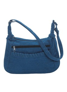 Denim Hobo Bag