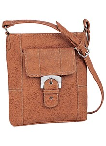 Buckle Accent Handbag