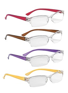Fashionable Rimless Readers