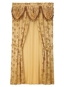 All-In-One Jacquard Curtain Set