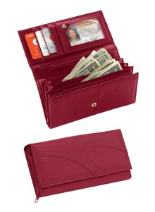 Ladies' 10 Compartment Wallet