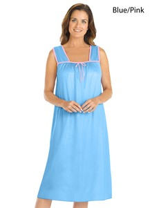 Silky Tricot Nightgown 2-Pack