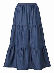 100% Cotton Denim Skirt