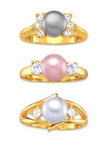 Genuine Pearl Ring