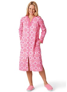 Full Zip Knit Robe