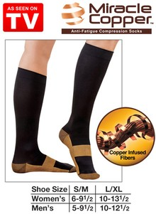 Miracle Copper&#153 Socks - As Seen on TV