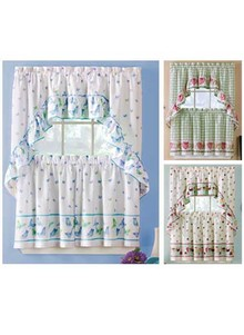 Tiers & Swag Curtain Set