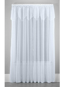 Satin Shimmer Ribbon Curtains